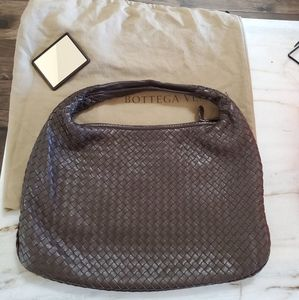 Bottega veneta Intrecciato hobo shoulder bag auth